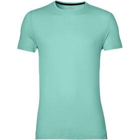 asics Seamless Koszulka do biegania z krótkim rękawem Mężczyźni turkusowy